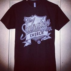 We partnered with some talented designers and came up with our own Salvation Army Church Tshirts.