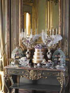 Talking Tables - Pearls & Pastries - Bridal - Dessert and cake lifestyle - Portrait