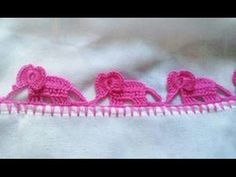 Video Tutorial – Elephant Crochet Edging | Styles Idea