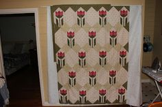 Quilts In The Barn: red and white quilts
