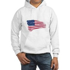 Tattered US Flag Hoo