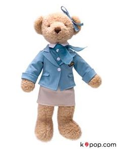 K2POP - TEADY BEAR KOREAN AIR MASCOT 사랑이 (STEWARDESS)