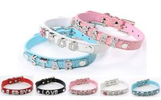 Wholesale 20PCS lot PU Leather Personalized Crocodile Pet Collar For Dogs Or Cats With 10MM Slide Bar For DIY 10mm slide charms & letters