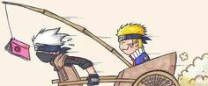 Lol!!! Naruto got smart about something, but Kakashi probably would just take the book.... He isn't that stupid