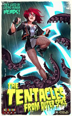 """The Tentacles From Outer Space"" by William Lice"