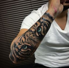 Tiger tattoo design shoulder - really amazing tiger tattoos for men . - Tiger tattoo design shoulder – really amazing tiger tattoos for men and women – tiger tattoo de - Tiger Forearm Tattoo, Tiger Eyes Tattoo, Mens Tiger Tattoo, Animal Sleeve Tattoo, Lion Tattoo Sleeves, Tiger Tattoo Design, Forearm Sleeve Tattoos, Best Sleeve Tattoos, Sleeve Tattoos For Women