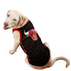 Chicago Bulls Pet Jersey - Black $24.95