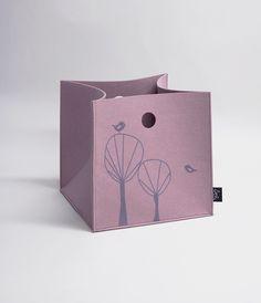 Sne Design storage box, lavender 156kr