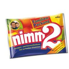 """Storck Nimm2 Candy, family pack As the name already implies: You need to """"take 2"""" - that's how good they are!"""