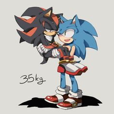 IDK Artist. Shadow is 35 kg ?!  Please, don't look in down of this picture → NSFW