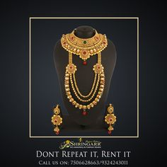 Our Antique Jewellery Set is a perfect Bridal Set for you this wedding season. Matching Bajuband, Hathphool, Damini and Maang Tikka will be provided.  SKU Code - K1033 MRP - Rs.9500/- Rent - Rs.1900/-   #RentIsTheNewBlack #DontRepeatItRentIt #RentFashion #AntiqueJewellery #JewelleryOnRent #Jewellery #SriShringarRentsIt #BridesOfIndia #India #Mumbai #VileParleEast #Brides #IndianWeddings #Weddings #BridesMaids