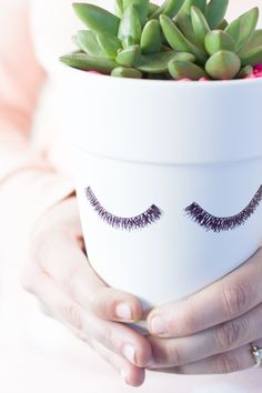 DIY Eyelash Planter