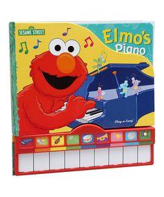 Sesame Street Elmos Piano Play-a-Sound Board Book | zulily