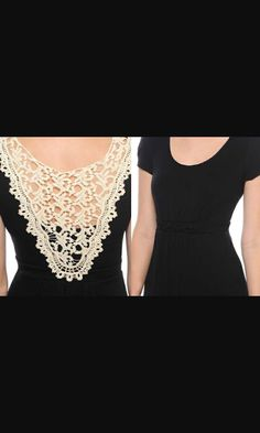 Camiseta customizada com renda. Diamond, Diy, Inspiration, Jewelry, Fashion, Lace, T Shirt, Do It Yourself, Biblical Inspiration