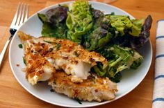 Dinner Tonight: Cod with Tarragon-Anchovy Breadcrumbs