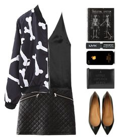 """""""Untitled #1825"""" by tacoxcat ❤ liked on Polyvore featuring Dion Lee, Lulu Guinness and Topshop"""