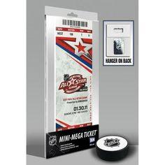 2011 NHL All-Star Game Mini-Mega Ticket - Carolina Hurricanes
