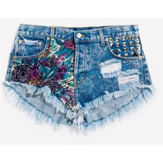 shorts jeans on We Heart It