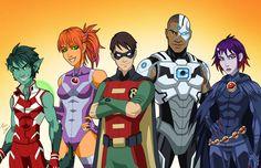 E27+Teen+Titans+by+phil-cho.deviantart.com+on+@DeviantArt