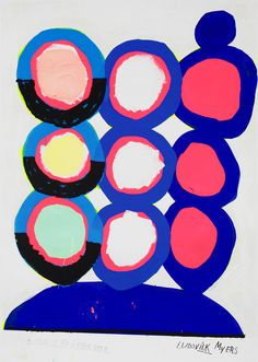 Ilk — Acrylic on paper