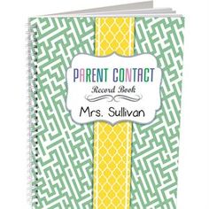 Parent Contact Record Book Couture Style by Really Good Stuff Inc Couture Style, Couture Fashion, Parent Contact, Recorded Books, Really Good Stuff, Language Arts, Parenting, Student, Track