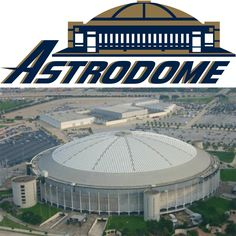 Astrodome, Astros, Houston Texas - I saw one game there in the final season for it. Astroworld Houston, Nfl Stadiums, Sports Stadium, H Town, Mlb Teams, Houston Astros, Major League, Childhood Memories, Statues