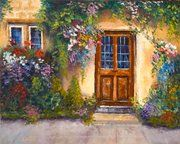 Beautiful painting (Brenda Joyce Orcutt is Charleston Artist Guild's featured artist for March)