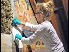 Great video about MA in Conservation of Wall Painting @CourtauldGall  - YouTube