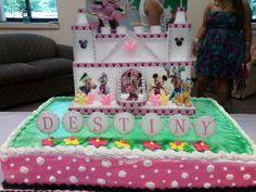 Minnie's Castle cake topper