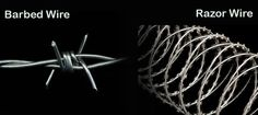 Barbed wire vs razor wire - These are two understood security installations utilized worldwide to protect boundaries from creatures or strangers. Barbed Wire Fencing