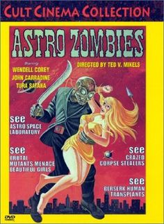 astro zombies dvd cover - Google Search