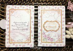 convite livro caixa conto de fadas jardim encantado vintage floral delicado provençal shabby chic sofisticado de luxo