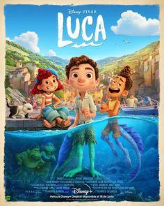 #LUCA, un verano inolvidable con #PIXAR (crítica sin spoilers) Disney Films, Disney Original Movies, Disney Animated Movies, Disney Art, Disney Animation, Animation Film, Computer Animation, Lucas Movie, Fantasy Films