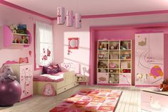 21 Awesome Pink Girl Bedroom Ideas | Decorative Bedroom Pink Bedroom Design, Kids Bedroom Designs, Kids Room Design, Bedroom Ideas, Bedroom Themes, Modern Bedroom Design, Bedroom Setup, Bedroom Decor, Pink Design