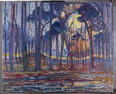 Piet Mondrian, Woods near Oele, De Stijl, Modern art Piet Mondrian Artwork, Dutch Artists, Paintings I Love, Art Design, Art History, Painting & Drawing, Amazing Art, Modern Art, Art Prints
