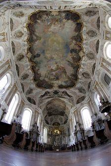 Interior of Augustinerkirche in Mainz. ©Landeshauptstadt Mainz