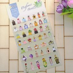 1 Pc / Pack Perfume Bottles Series Daisyland Environmental Protection Stickers For Diy Albums Scrapbooking Diary Decoration #>=#>=#>=#>=#> Click on the pin to check out discount price, color, size, shipping, etc. Save and like it!