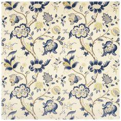 Sanderson Vintage Roslyn Fabric Collection DVIPRO202 DVIPRO202