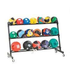 3 Tier Medicine Ball Rack from Power Systems