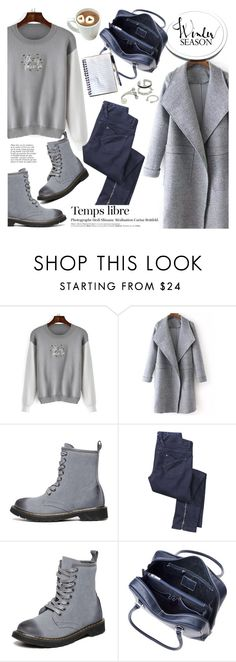 """""""Winter season"""" by helenevlacho ❤ liked on Polyvore featuring Mode, Hedi Slimane, Anja und shein"""
