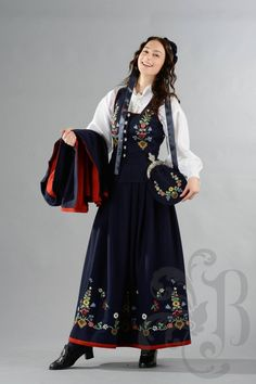 Lofoten bunad Traditional Clothes, Lofoten, Norway, Scandinavian, That Look, Bohemian, Clothing, Pattern, How To Make