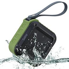 Ultra Portable IPX5 Waterproof Bluetooth Speakers, 12-Hour Playtime, Outdoor And Shower Wireless Bluetooth Speaker SBT007 By Svinz (Forest Green)