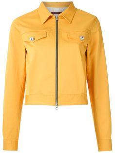 Shop À La Garçonne cropped jacket.