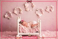 Pink theme wooden bed pose so beautiful Pink Themes, Newborn Baby Photography, Photo Art, Toddler Bed, Bb, Poses, Furniture, Beautiful, Home Decor