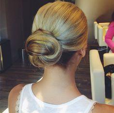 Love this simply elegant bun!