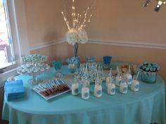 Baby Shower Dessert Table Boy Table Topper Inspiration