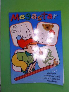 Megastar, Malbuch