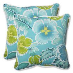 Calypso Indoor/Outdoor Throw Pillow