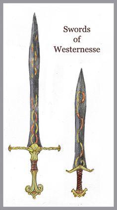 Swords of Westernesse by ~Merlkir on deviantART