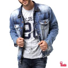 ;) Bora dar um ▶️ play neste look que dá um super destaque ao jeans?   O assunto sobre moda continua no blog das #LojasTenda: www.lojastenda.com.br/blog/